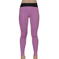 Bodacious Pink - Classic Yoga Leggings by FashionLane