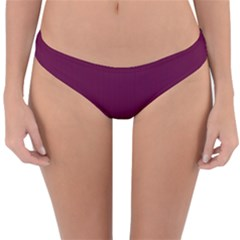 Boysenberry Purple - Reversible Hipster Bikini Bottoms by FashionLane