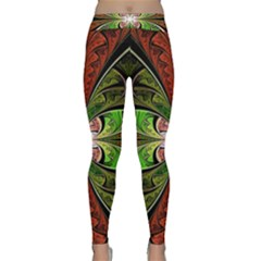 Fractal Design Classic Yoga Leggings by Sparkle