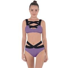 Chinese Violet - Bandaged Up Bikini Set  by FashionLane