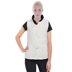 Alabaster - Women s Button Up Vest by FashionLane