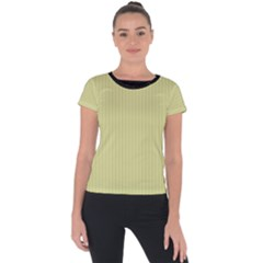 Faded Jade - Short Sleeve Sports Top  by FashionLane