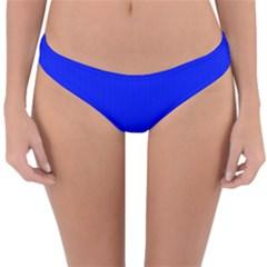 Just Blue - Reversible Hipster Bikini Bottoms by FashionLane