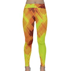 Geo Abstract 1 Classic Yoga Leggings by MoreColorsinLife