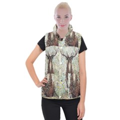 King Of The Forest - By Larenard Women s Button Up Vest by LaRenard