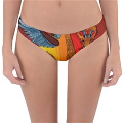Dragon Metallizer Reversible Hipster Bikini Bottoms