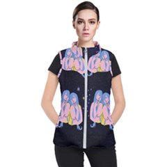 Twin Horoscope Astrology Gemini Women s Puffer Vest