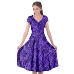 Gc (93) Cap Sleeve Wrap Front Dress by GiancarloCesari