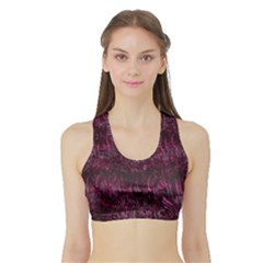 Gc (88) Sports Bra With Border by GiancarloCesari