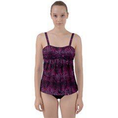 Gc (88) Twist Front Tankini Set by GiancarloCesari