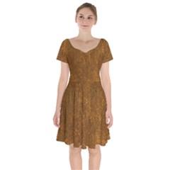 Gc (66) Short Sleeve Bardot Dress