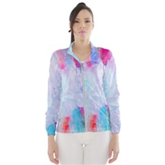 Rainbow Paint Women s Windbreaker