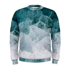 Blue Waves Men s Sweatshirt
