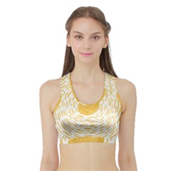 Sun Sports Bra With Border