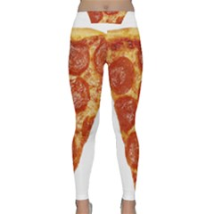 Pizza Slice Classic Yoga Leggings by dajjj
