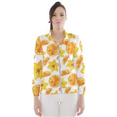 Oranges Love Women s Windbreaker by designsbymallika