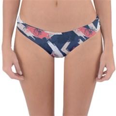 Paint Brush Feels Reversible Hipster Bikini Bottoms by designsbymallika