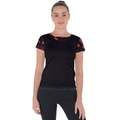 Multicoeur Short Sleeve Sports Top