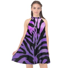 Z¨|brer Halter Neckline Chiffon Dress  by 300927