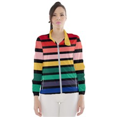 Nine 9 Bar Rainbow Women s Windbreaker by WetdryvacsLair
