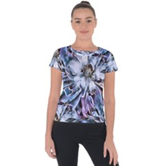 Fleur  12 Short Sleeve Sports Top