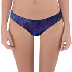 Glassy Melty Abstract Reversible Hipster Bikini Bottoms by Dazzleway