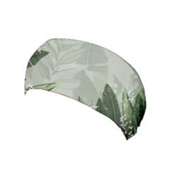 Banana Leaf Plant Pattern Yoga Headband