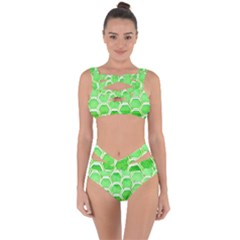 Hexagon Windows Bandaged Up Bikini Set  by essentialimage