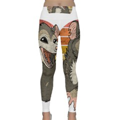 Possum  Classic Yoga Leggings by Valentinaart