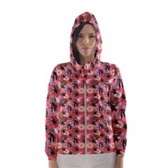 Sweet Donuts Women s Hooded Windbreaker