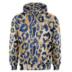Leopard Skin  Men s Core Hoodie by Sobalvarro