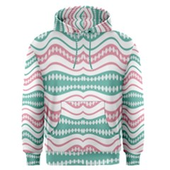 Waving Lines Vivid Pattern Men s Core Hoodie by dflcprintsclothing