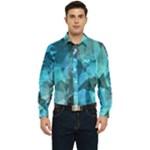 Song Sung Blue Men s Long Sleeve Pocket Shirt