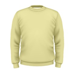 Color Pale Goldenrod Men s Sweatshirt