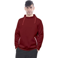 Color Blood Red Men s Pullover Hoodie by Kultjers