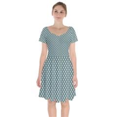 Dffdg Short Sleeve Bardot Dress by kcreatif