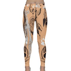 Indian2 Classic Yoga Leggings by PollyParadise