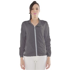 Carbon Grey Women s Windbreaker by FabulousChoice