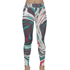 Vector Vivid Marble Pattern 1 Classic Yoga Leggings