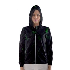 Alien2 Women s Hooded Windbreaker by PollyParadise