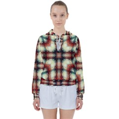 Royal Plaid  Women s Tie Up Sweat by LW41021