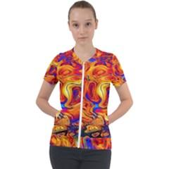 Sun & Water Short Sleeve Zip Up Jacket by LW41021