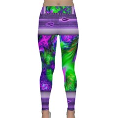 Feathery Winds Classic Yoga Leggings by LW41021