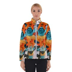 Spring Flowers Winter Jacket by LW41021