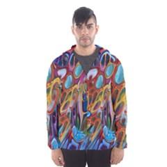 Colored Summer Men s Hooded Windbreaker