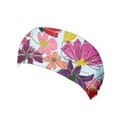 Flower Pattern Yoga Headband
