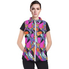 Abstract 2 Women s Puffer Vest by LW323