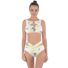Soleil-lune-oeil Bandaged Up Bikini Set  by byali