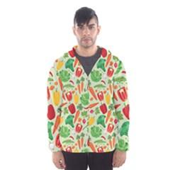 Vegetables Love Men s Hooded Windbreaker