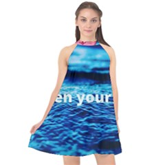 Img 20201226 184753 760 Photo 1607517624237 Halter Neckline Chiffon Dress  by Basab896